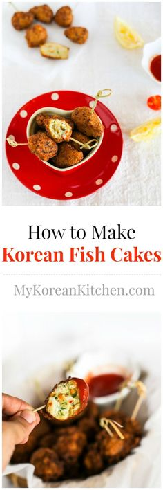 How to Make Korean Fish Cakes | MyKoreanKitchen.com