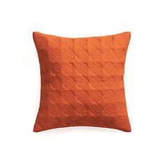 "Marvis Orange 20"" Pillow"