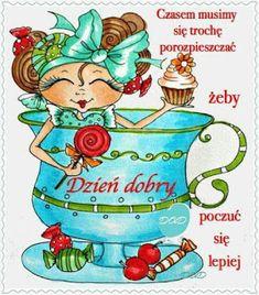 Dla każdego: DZIEŃ DOBRY Good Night, Good Morning, Haha, Princess Zelda, Funny, Cards, Fictional Characters, Relax, Stock Photos