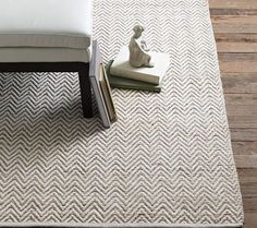 [living room] Something about this West Elm rug reads as coastal in the living room retreat featured at this link.