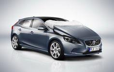 volvo v40 helps save lives with deployable pedestrian airbags