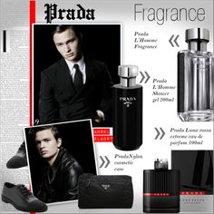Men's Fragrance  - PRADA by alves-nogueira on Polyvore featuring beleza and Prada