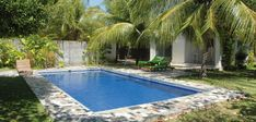 The big private swimming pool of the holiday home invites you to take a swim and splash whenever you want.