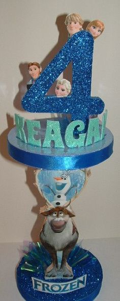 FROZEN Centerpiece Makes One Awesome Keepsake of by CandyFlorist, $21.95