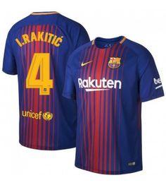 Barcelona Ivan Rakitic 4 Hjemmebanetrøje 17-18 Kortærmet 039ae532049