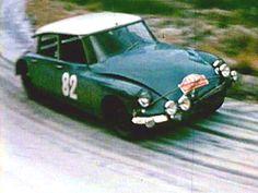 1965 Rajd Monte Carlo - Lucette Pointet i Francoise Houillon – Citroen DS 21