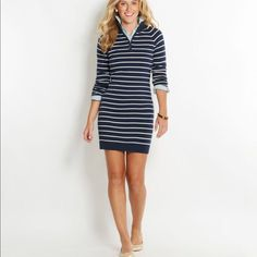 Vineyard Vines Sweater Dress Size M Gola Polo fb575c69c497