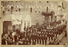 Everyone loves a parade. The Independent Order of Odd Fellows Grand Lodge of the Dakotas, pictured in this photo by Grabill, drew quite a crowd to the streets of Deadwood on May Adams Museum Collection. Vintage Photo Album, Vintage Photos, Family Tree Art, Grand Lodge, Odd Fellows, Photo Story, Ancestry, Family History, Old Photos