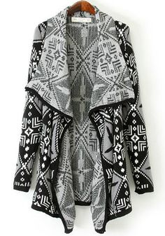 cute printed cardigan