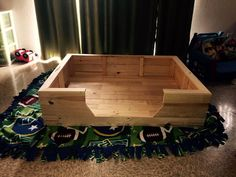 Dog Bed out of #Pallets - Top 14 Pallet Furniture Projects That Inspired You | 101 Pallet Ideas - Part 2