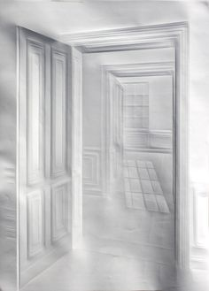 Simon Schubert, 'Untitled (light through doors),' 2014, Galerie Thomas