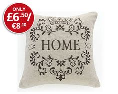 Natural Home Chenille Cushion, soft furnishing sofa #Kleeneze