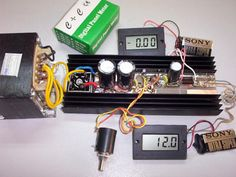 1.3 - 32 V / 5A Power Supply with Short Circuit Protection with LM338