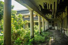 Original Pegu Club in Rangoon, Burma