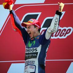 La gioia di Jorge #Lorenzo