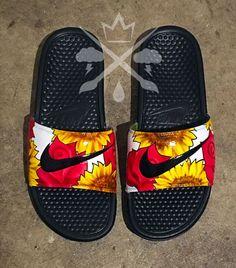 403e69ada76d Nike Custom Trippy Tie Dye Psychedelic Hippy Swirl Benassi