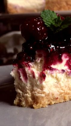 Cheesecake Recipes, Dessert Recipes, Chess Cake, Tasty Videos, Classic Cheesecake, Mini Cheesecakes, Cake Decorating Tips, Love Food, Food To Make