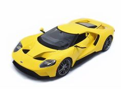 Contemporary Manufacture 180506: Maisto 1:18 2017 Ford Gt Diecast Model Vehicle Car Yellow New In Box Ships Asap -> BUY IT NOW ONLY: $33 on eBay!