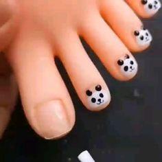 Cute Nail Art, Nail Art Diy, Diy Nails, Swag Nails, Cute Simple Nails, Cute Nails, Pretty Nails, Gel Nail Art Designs, Nail Art Designs Videos