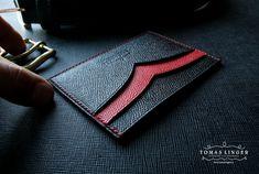 Pouzdro pro karty a vizity ručně vyrobené.