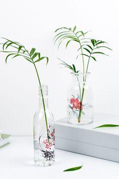 Easy Upcycling Idee mit Altglas - - schereleimpapier DIY und Upcycling Blog aus Berlin - kreative Tutorials für DIY Geschenke, DIY Möbel und DIY Deko zum Basteln