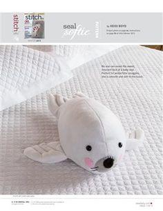 Pattern: Seal Softie - Media - Sew Daily