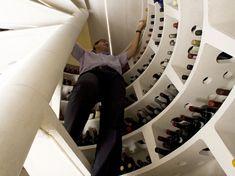 trap door wine cellar