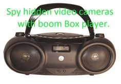 Boom Box Wireless covert cameras  is great tool when you have a baby sitter at home watch any time and see what's going on. http://www.securityinvisible.com/hidden-cameras/wireless-boom-box-hidden-camera.html