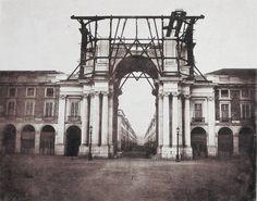 Construção do Arco da Rua Augusta