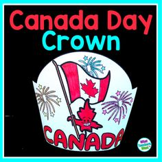 I created this crown for my class of big kids to do with their little buddies just before school lets out the end of June. Fun for Canada Day this year (Canada' s 150th Birthday) and beyond! For the Best Crown: -Colour prior to cutting and stapling -Copy on construction paper Educational Activities, Activities For Kids, Sentence Strips, Canada 150, Paper Crowns, Construction Paper, Addition And Subtraction, Task Cards, School Resources