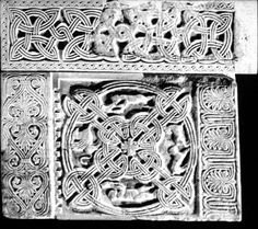 Croatianicity: Examples Of Middle Ages Croatian Knotted Interlace In Stone (Pleter, Troplet, Wattle...)