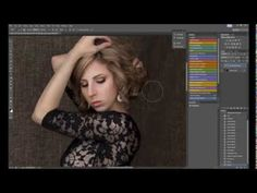 Glamorous Photoshop Tutorial by Emily London Portraits - YouTube