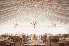 Białe dekoracje ślubne