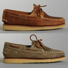 RED WING HANDSEWN BOAT SHOE