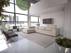 Nick Leather Corner Sofa , Sofas, Go Modern Furniture Leather Corner Sofa, Leather Sofa, Luxury Sofa, Luxury Living, Modern Living, Sofa Design, Corner Sofa Modern, Living Room Furniture, Living Room Decor