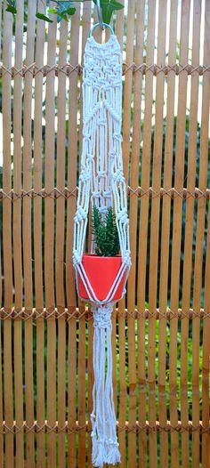 Suspension pour plantes en macramé/ Planthanger Macramé