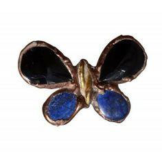 Broche mariposa de onix y lapislazuli www.sanci.es Stud Earrings, Jewelry, Jewlery, Bijoux, Studs, Schmuck, Stud Earring, Jewerly, Jewels