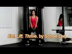 More than an exercise guide, the book Eat. Lift. Thrive. acknowledges and addresses the relationship women have with fitness and food. Popular trainer and author Sohee Lee shares her experience and strategies for overhauling mindset, eating habits, and training routines. Detailed instructions, color photos, and advice accompany Lee's nutrition tips, exercises, and 12-week program.