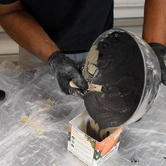 Easy Concrete Planter - Beton Creations - Home Crafts Diy Craft Projects, Diy Crafts Hacks, Diy Home Crafts, Diy Crafts Videos, Diy Videos, Homemade Crafts, Best Diy Projects, Decor Crafts, Homemade Candles