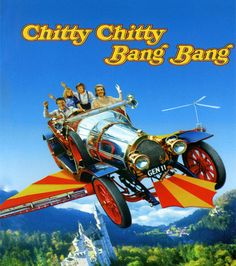 ENFP: Chitty Chitty Bang Bang. Imaginative, creative and fun. Unconcerned with trifles. Like gravity.