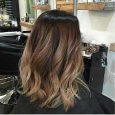 This is one of the most beautiful balayage hair colors I've ever seen! I'm definitely doing this when the spring comes!