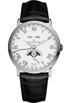 "Blancpain: Villeret Complete Calendar ""8 Jours"" Platinum Limited"