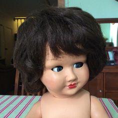 Vintage Verna Hard Plastic Doll Made In Australia. in Dolls, Bears, Dolls, Hard Plastic | eBay