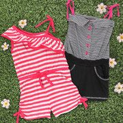 Take a look at the Turn Cartwheels: Girls' Rompers event on #zulily today!