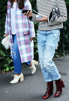 Spring '14 London Fashion Week Street-Style Photos by Tommy Ton