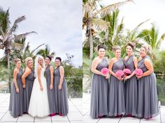 Sarah and Cam's glamourous beach wedding