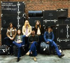The Allman Brothers Band...southern rock at it's best...live at Filmore east