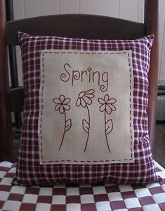 Spring stitchery--so simple!