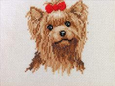 Yorkshire Terrier - Cross Stitch