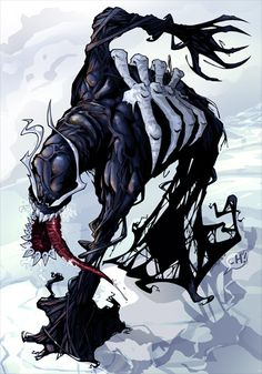 Venom by Todd Demong by *JeremyTreece on deviantART